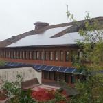 Solceller på kommunhuset i Vänersborg