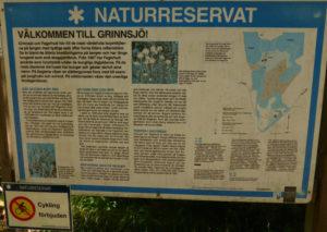 Grinnsjo_Skylt Grinnsjö naturreservat_2016-06