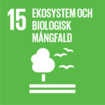 Globala målen Agenda 2030 nr 15 ekosystem och biologisk mångfald